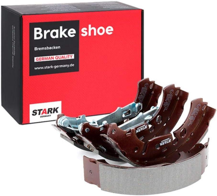 Bremsbacken /& Bremsbackensatz STARK SKBS-0450070 Bremsbackensatz Trommelbremsbacken Bremsbacken Hinten