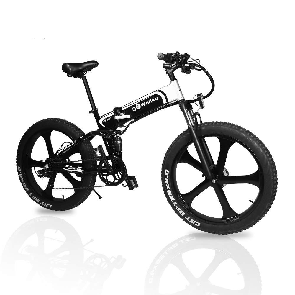 Wallke 26 Inch Folding Aluminum Electric Bike 48v