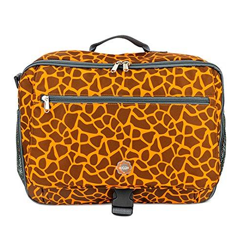 Hugger Comfy Momma–Bolsa de Pañales Bolso Para Pañales Bolso cambiador Bolsa de hombro mochila azul hotty owls my giraffe is orange