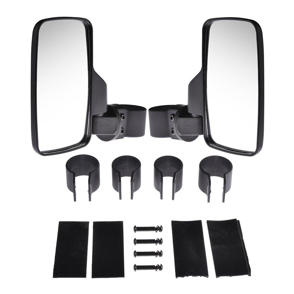 White Hose /& Stainless Black Banjos Pro Braking PBK9677-WHT-BLA Front//Rear Braided Brake Line