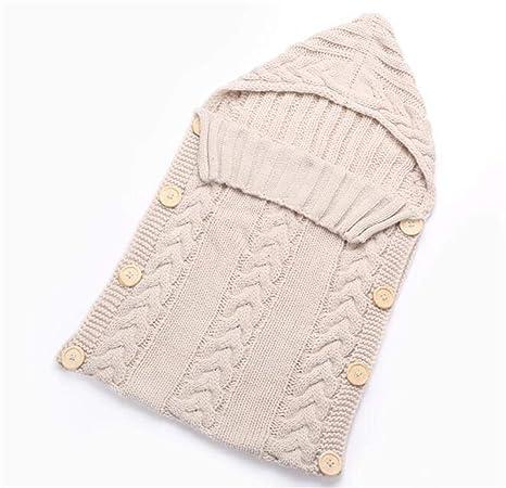Saco de dormir de calidad para recién nacido, de invierno beige ...