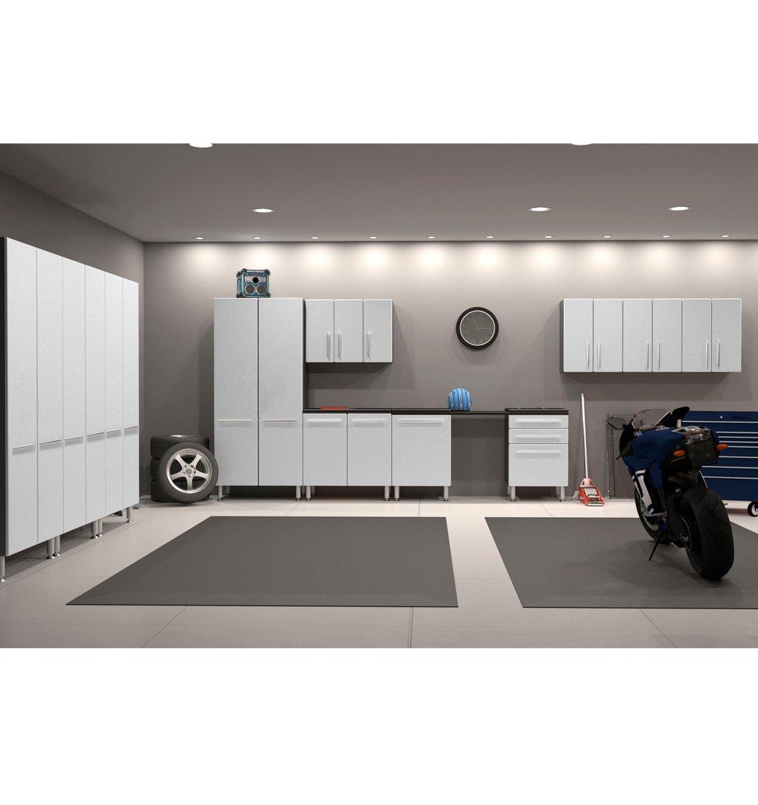 Amazon.com: Ulti MATE Storage 12 Piece Package, White Metallic/Grey:  Kitchen U0026 Dining