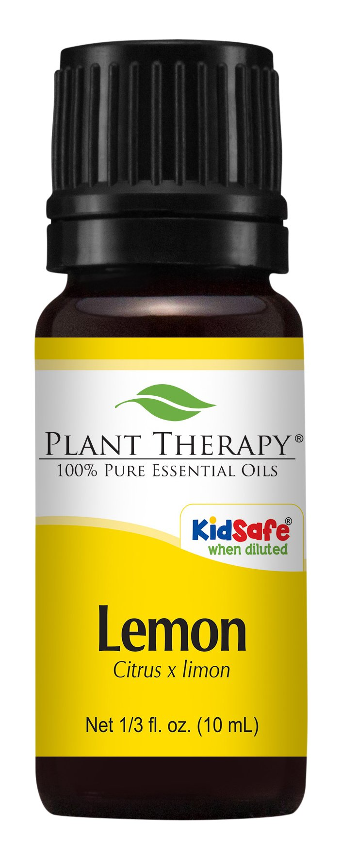 Lemon Essential Oil (Cold Pressed). 10 ml. 100% Pure, Undiluted, Therapeutic Grade.