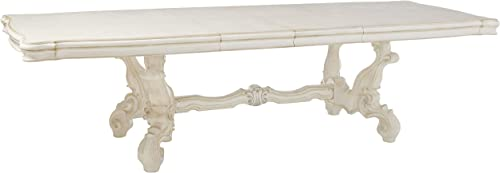 ACME Versailles Dining Table - 61130 - Bone White