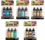 Ranger Tim Holtz ADIRONDACK ALCOHOL INKS- Favorite Set Collection 2 - 15 Pack.
