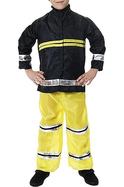 Hi Fashionz Kids Fire Fighter Disfraz Extintor de incendios ...