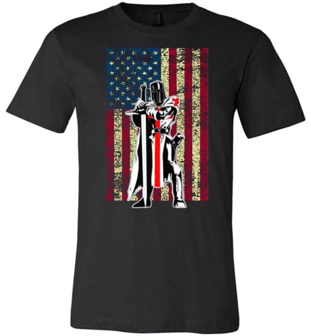 K Nights Templar Crusader T Shirt 4395