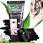 Black charcoal peel off mask, charcoal face mask peel off, Blackhead Remover Mask, Charcoal peel off mask, Deep clean mask for remove Blackheads, Natural Charcoal Black Mud Facial Mask