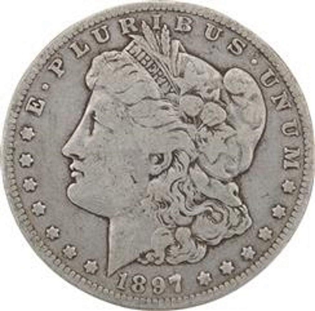 1878-1904 Morgan Silver Dollar Culls Pre-1921 Mix Dates Lot of 5 Coins