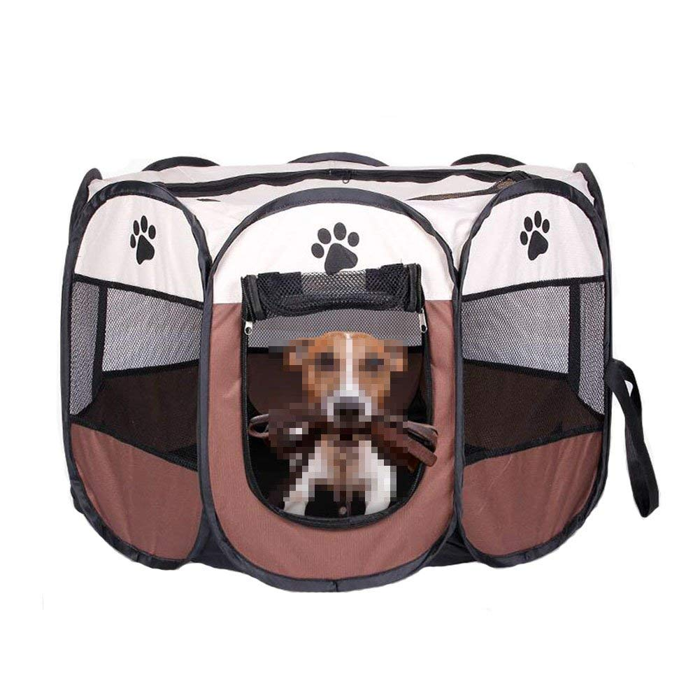 Large Pet Bed Dog Cat Nest Collapsible Pet Waterloo Portable Outdoor Fence Cage (Size   S) (Size   Large)
