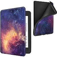 Fintie Custodia per Kindle Paperwhite (10ª generazione - modello 2018) - Super Leggero Soft Cover Posteriore in TPU con Funzione Auto Svegliati/Sonno, Galaxy