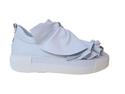 Vic Matie 1S6227D Bianca Sneaker Donna in Pelle White 71fe4b80433