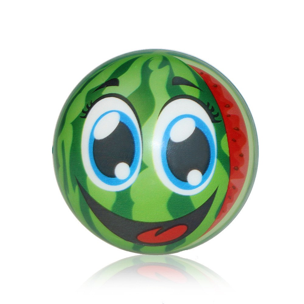 CSSD Slow Rising Cream Scented Squeeze Cute Fruits Decompression Toys (Dark Green)