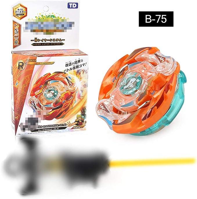 Orange Saisie de Lanceur Jouet Int/éressant pour Enfants Lavendei Beyblade Toupie M/étal Ma/îtres De Fusion Battre Lanceur De Puissance