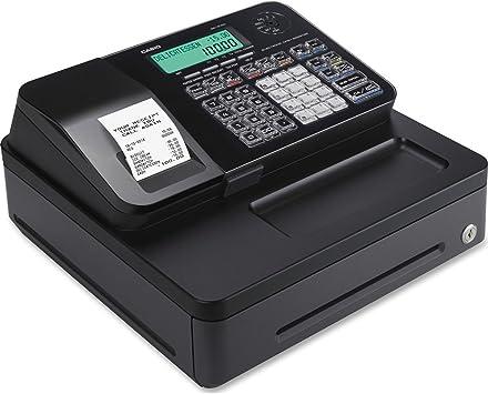 Casio pcrt285bk Entrada Nivel pcr-t285-bk Caja registradora ...