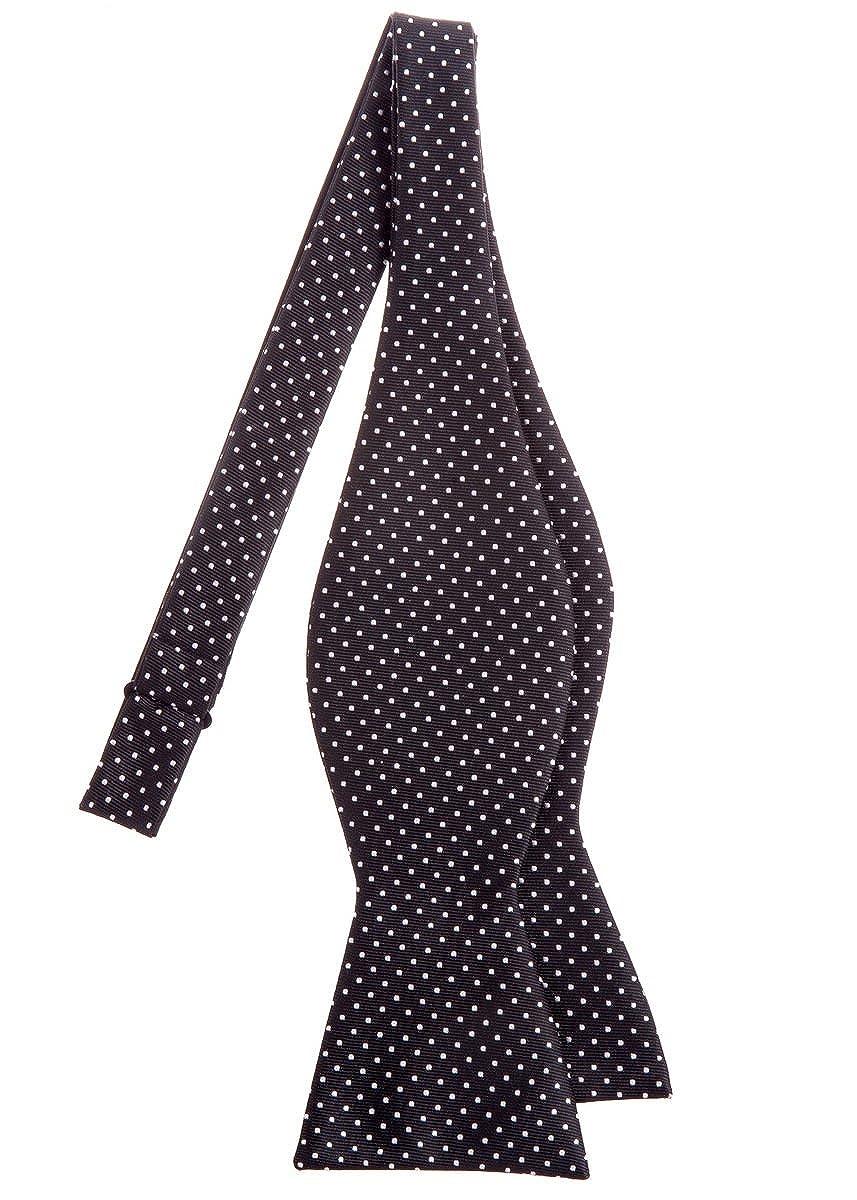 Retreez moderno Mini Lunares Tejido microfibra Self corbata ...