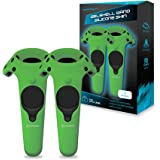 Hyperkin GelShell Controller Silicone Skin for HTC Vive Pro/ HTC Vive (Green) (2-Pack)