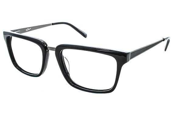 efa67e251604 Amazon.com  Eyeglasses Original Penguin The Stanford BLACK Black ...