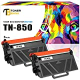 Toner Bank 2Packs TN850 Compatible Brother TN-850 TN 850 TN820 TN-820 TN880 Toner Cartridge for Brother HL-L6200dw HL-L6200dwt HL-L5200dw HL-L5100dn MFC-L5700dw MFC-L5800dw MFC-L5900dw MFC-L6700dw Ink