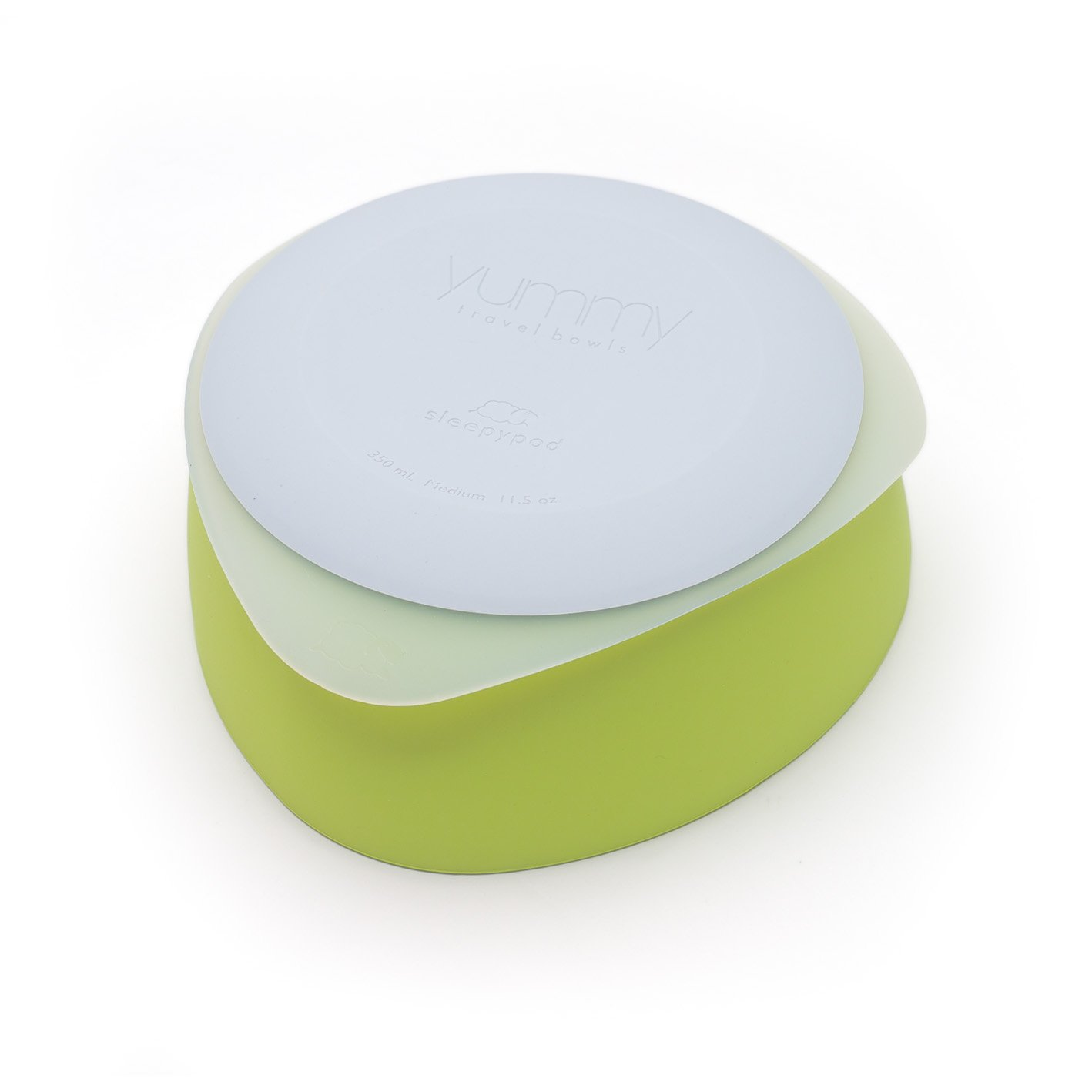 Yummy Pet Travel Dog Bowls - Key Lime - Medium by Sleepypod