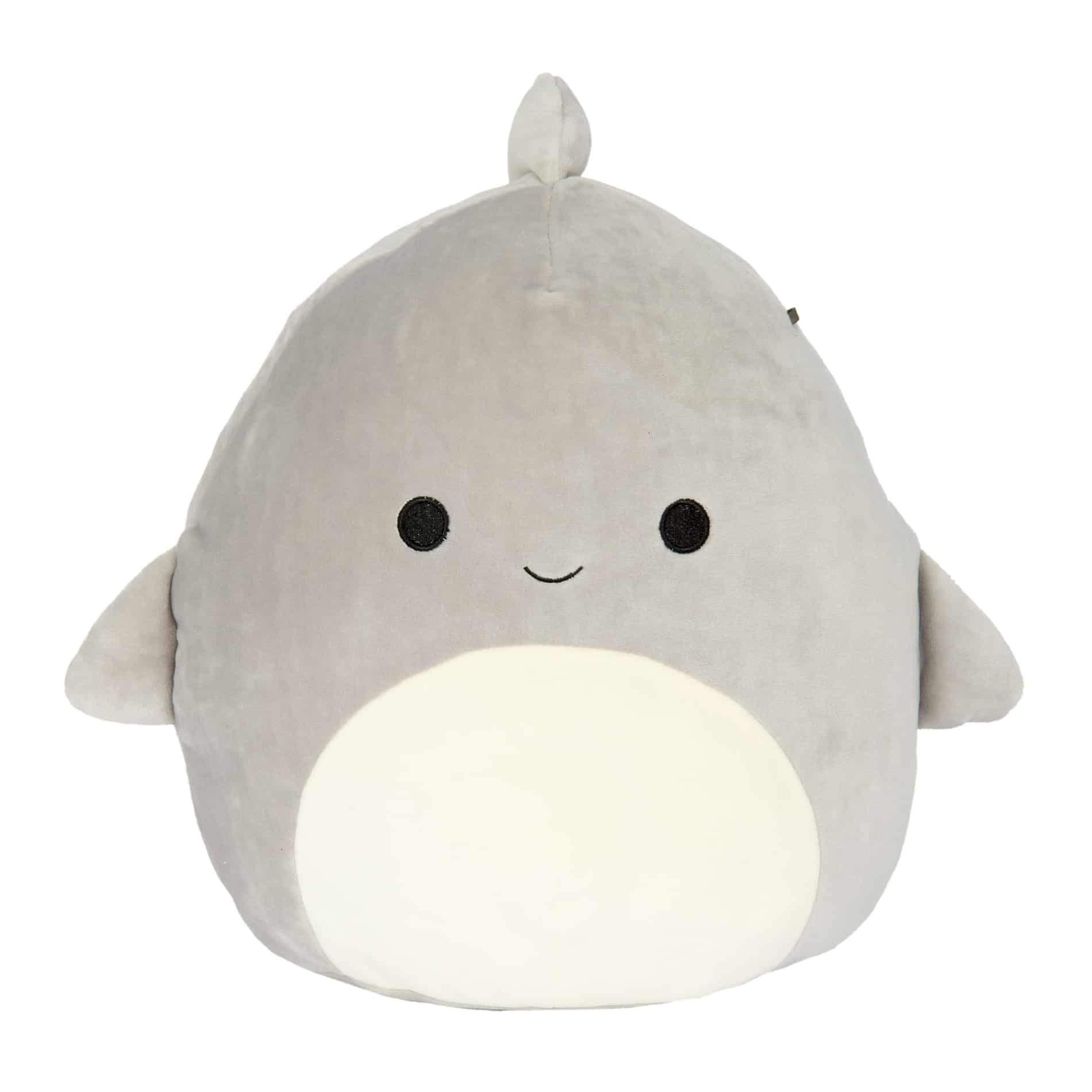 Squishmallow Kellytoy Sea Life 16'' Gordon The Shark- Super Soft Plush Toy Pillow Pet Animal Pillow Pal Buddy Stuffed Animal Birthday Gift Holiday Spring Easter