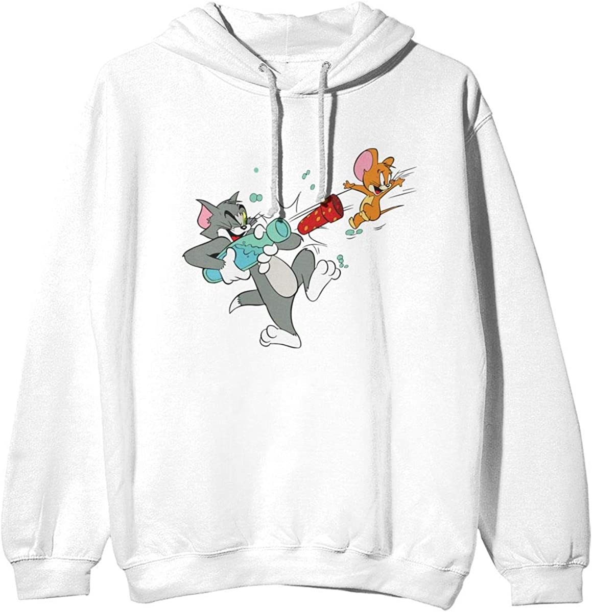 Details about  /Tom and Jerry Character Chasing Hoodie Novelty Pullover Men Women Unisex V314