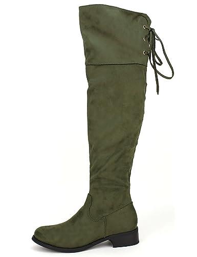 2bb5d6ab3116 Kenn s Amazon Cendriyon Taille 41 Cuissarde Chaussures Kaki Femme Bw0FxA0