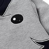 CM-Kid Little Boys' Elephant Long Sleeve T-shirt