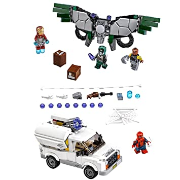 Amazon Lego Super Heroes Beware The Vulture 76083 Building Kit