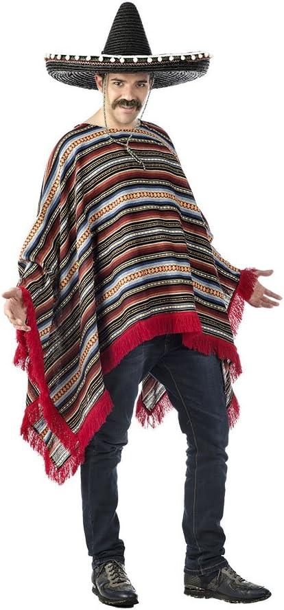 Limit Sport- Disfraz Poncho Mexicano, única (CM571): Amazon.es ...