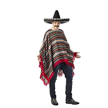 Limit Sport Disfraz Poncho Mexicano única CM571  Amazon.es  Juguetes ... 728e2899f5e
