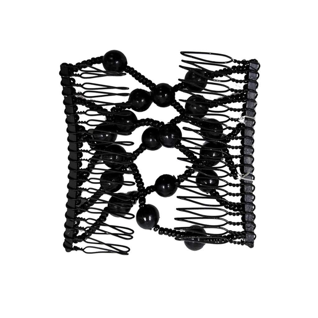 SimpleLife Magic Comb Magic Fermagli Elastici Ez Doppio Pettine Diversi Stili di Capelli Donna Clip Acconciatura