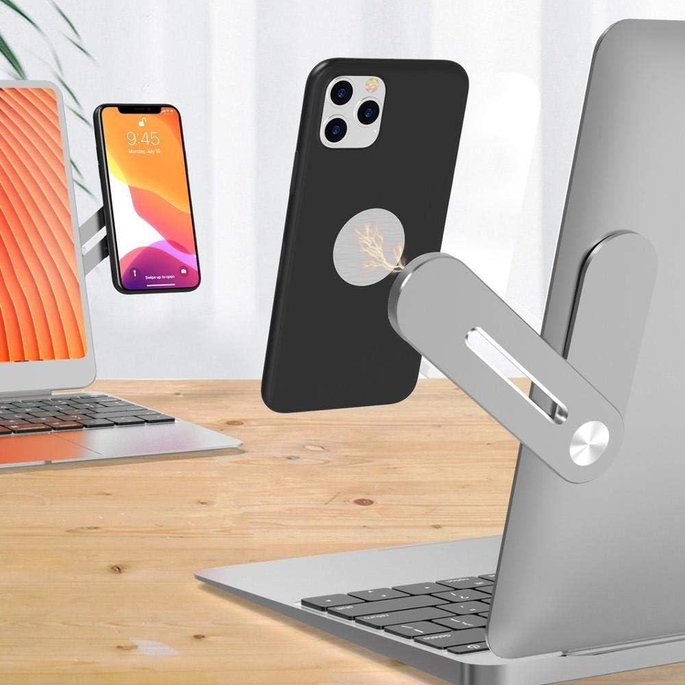 Phone Holder,Aluminum Shrink Bracket,Laptop Expansion Stand,Flexible Expansion Tablet,Foldable for Most Laptops and Phones