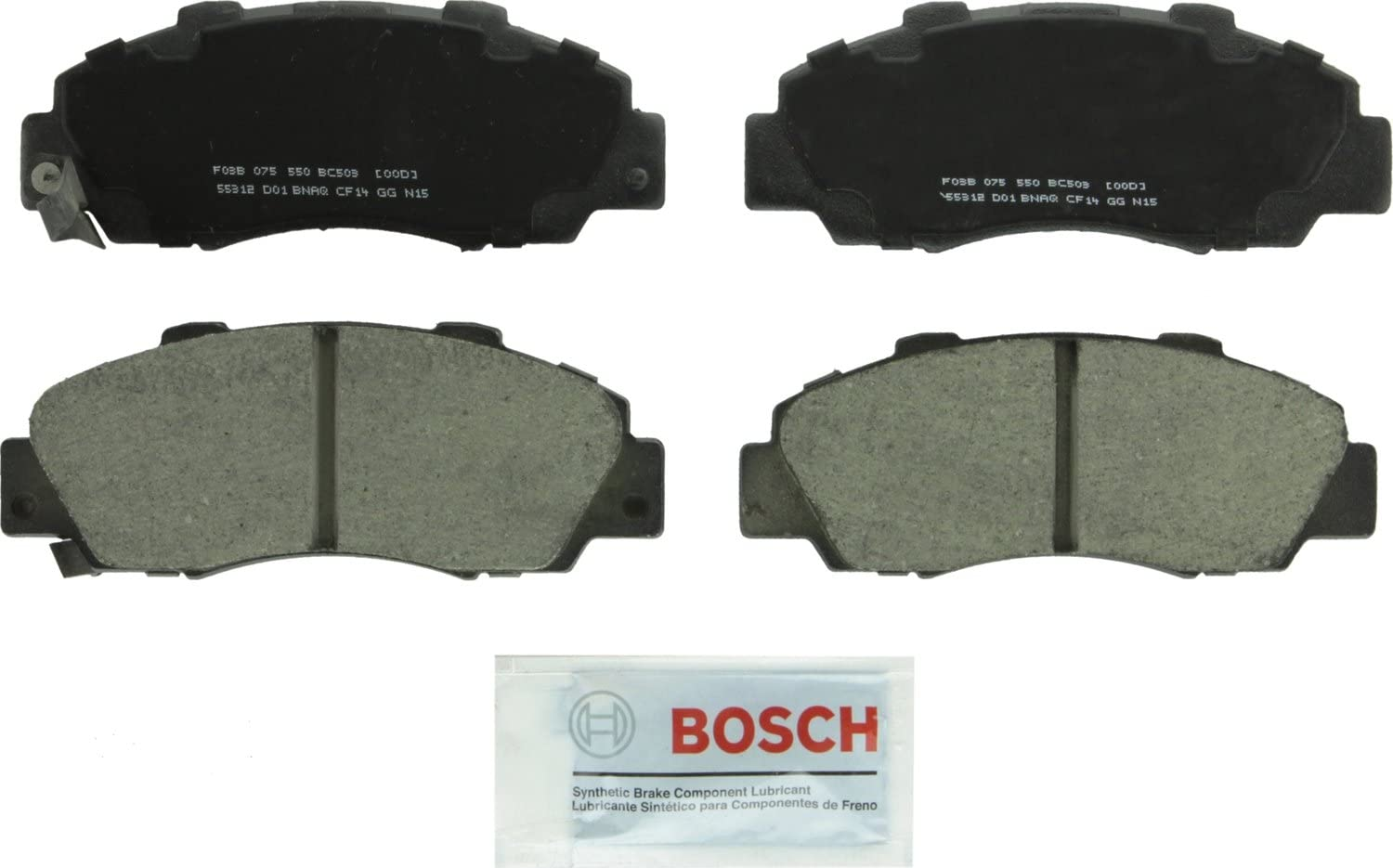 FRONT BRAKE PADS for HONDA ACURA EL ACCORD CIVIC INSIGHT Premium Brake Pads