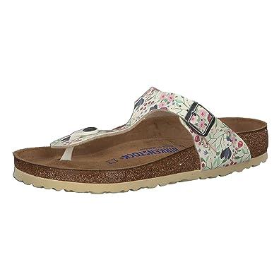 bf554fcff Birkenstock Gizeh Sandals with Flowers 37 Beige
