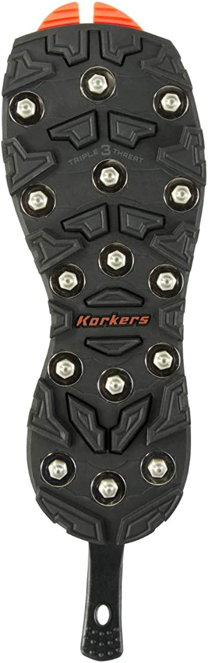 Korkers OmniTrax v3.0 Triple Threat - Carbide Spike