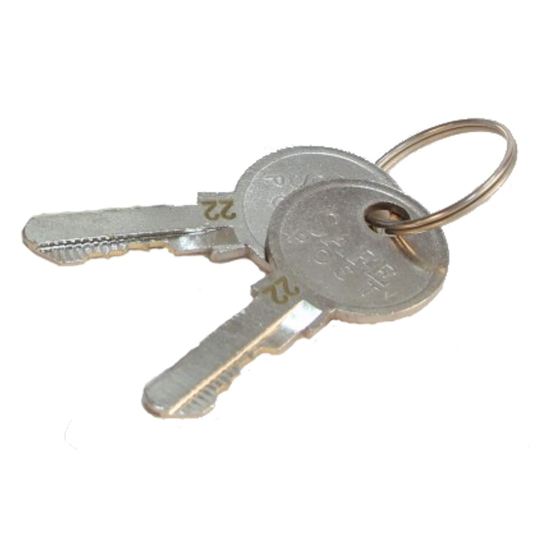 Schlie/ßung 801 Schlie/ßung 801 bis 1000 Zusatzschl/üssel f/ür Hebelzylinder und Briefkastenschl/össer SafePost EuroLocks Ersatzschl/üssel Nachschl/üssel