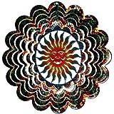 Next Innovations Kaleidoscope Sun Face Wind Spinner