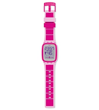 Swatch Pinkzero Touch Zero Alarm Chronograph Swiss Digital Smart Watch
