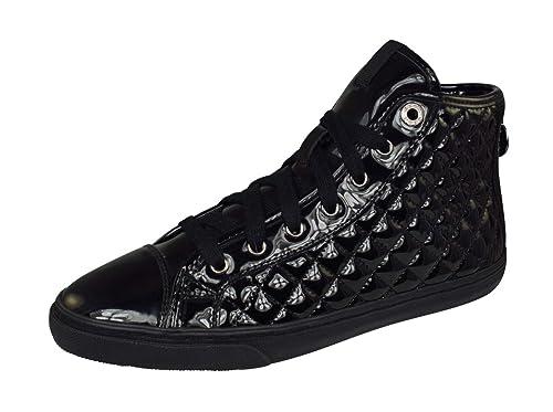 Geox White 'new Club' High Top Sneaker