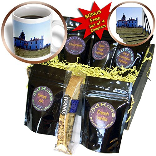 Renderly Yours Scenic Inspirations - Rhode Island Light Houses - Coffee Gift Baskets - Coffee Gift Basket (cgb_202477_1)