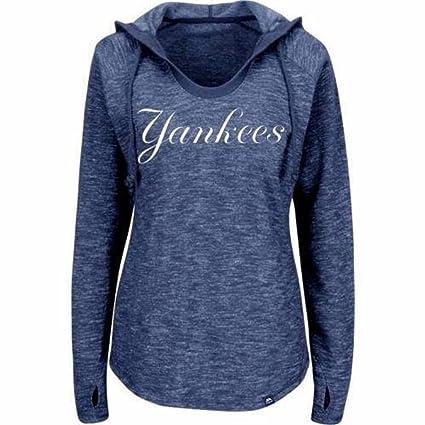 Para mujer New York Yankees – Sudadera con capucha para mujer (tamaño pequeño)