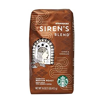 Siren's Blend Starbucks Coffee Beans
