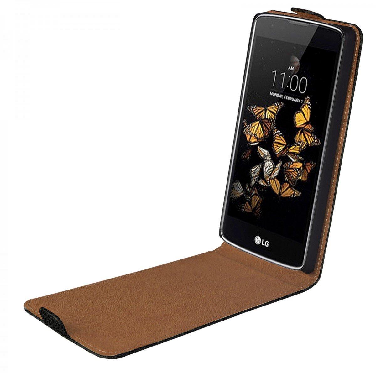 eFabrik Flip Case für LG K8 Hülle Tasche: Amazon.de: Elektronik