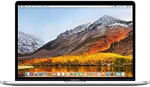 Apple 15.4in MacBook Pro Laptop (Retina, Touch Bar, 2.6GHz 6-Core Intel Core i7, 16GB RAM, 512GB SSD Storage) Silver (MR972LL/A) (2018 Model) (Renewed)