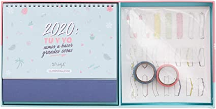 Mr. Wonderful Bullet, Calendario, Talla Única, Multicolor: Amazon ...