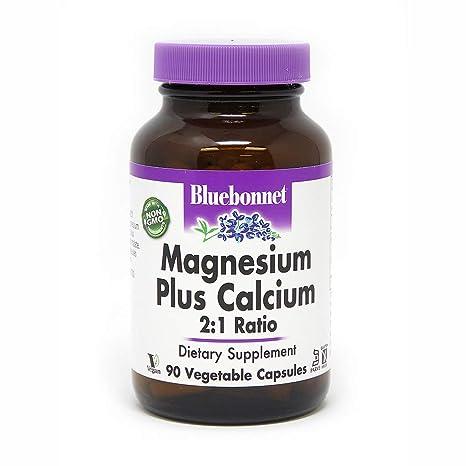 Bluebonnet Nutrition - Magnesio más el calcio 2: 1 Ratio - 90Capsule(s)