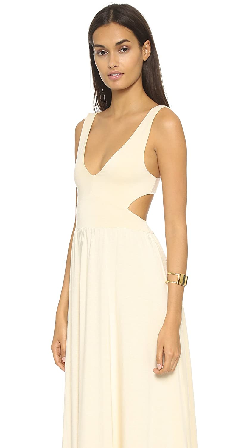 Amazon.com: Rachel Pally Womens Long Cutout Dress, Cream, XX-Small: Clothing