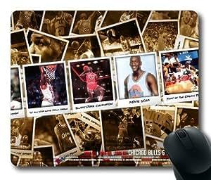 Michael Jordan Chicago Bulls 23 NBA Sports M027 oblong mouse pad