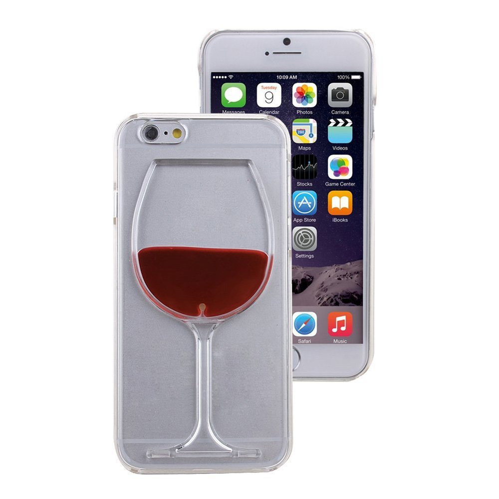 coque iphone 7 vin rouge